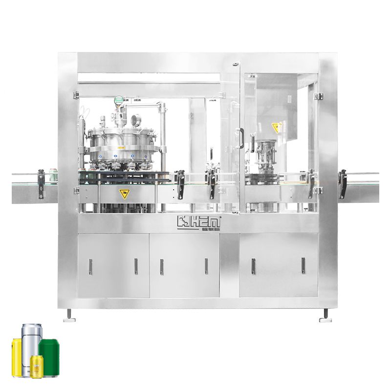 6000CPH(100CPM) Beer Canning Machine
