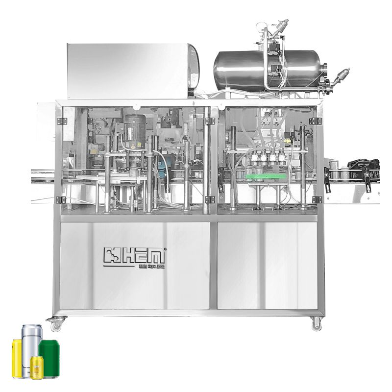 600CPH(10CPM) Beer Canning Machine