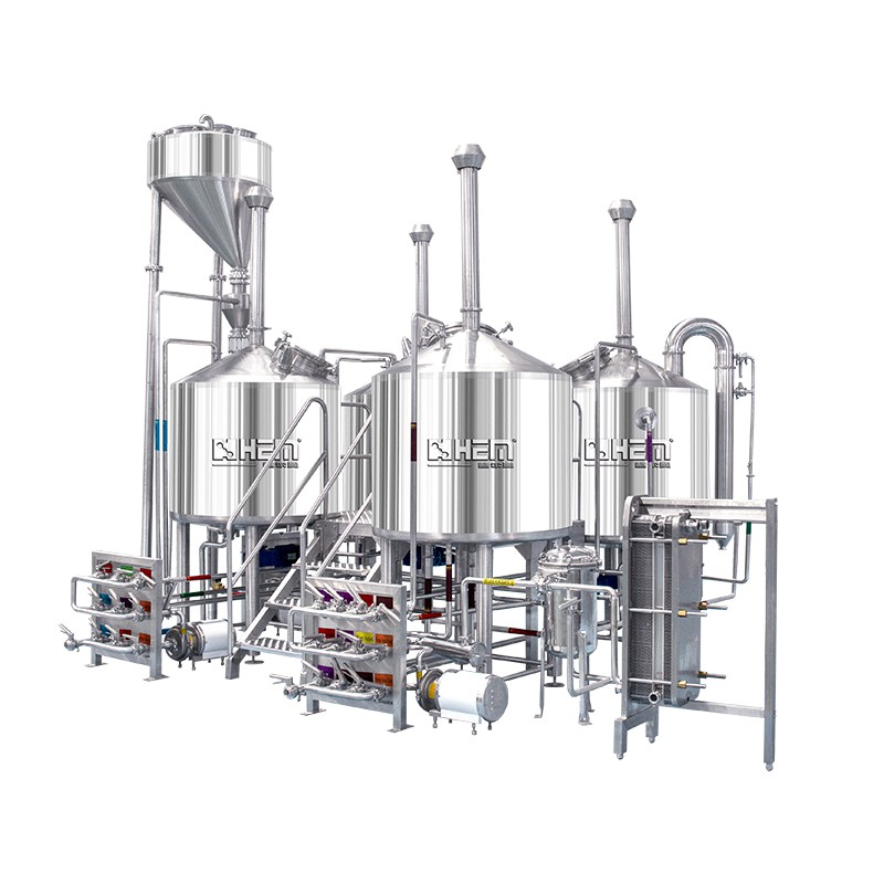 500L 3 Vessel Brewhouse