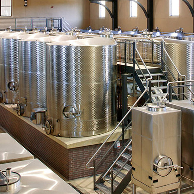 Stainless Steel Wine Fermentation Tank, Fermenter