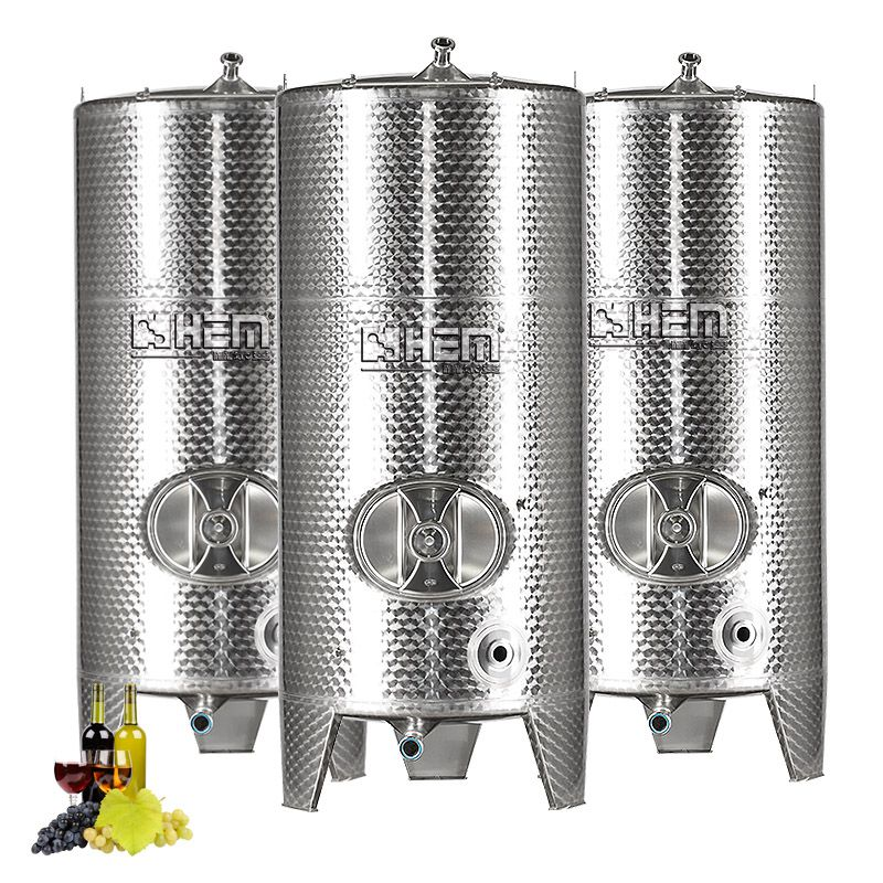 Stainless Steel Wine/Cider Fermentation and Storage Tank